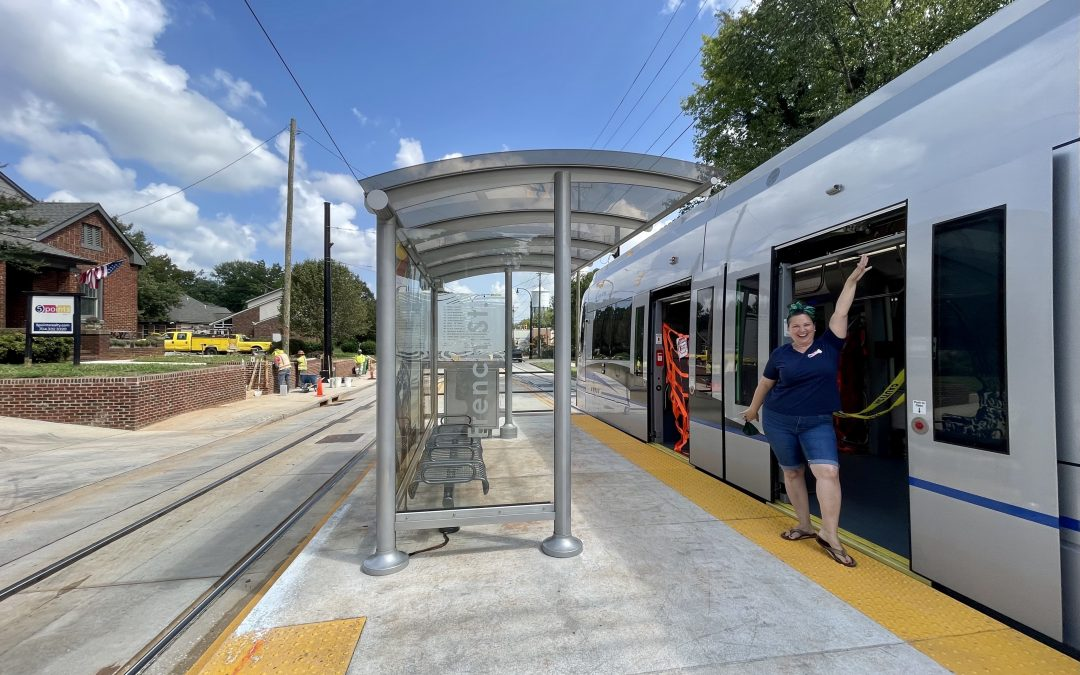 Charlotte Streetcar Extension Opens